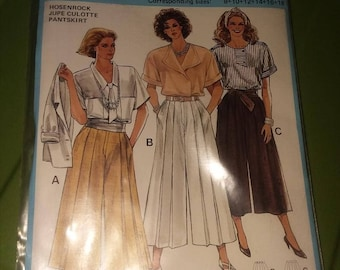 New Womens Burda Pattern #6579 US sized 8-18 EU sized 34-44