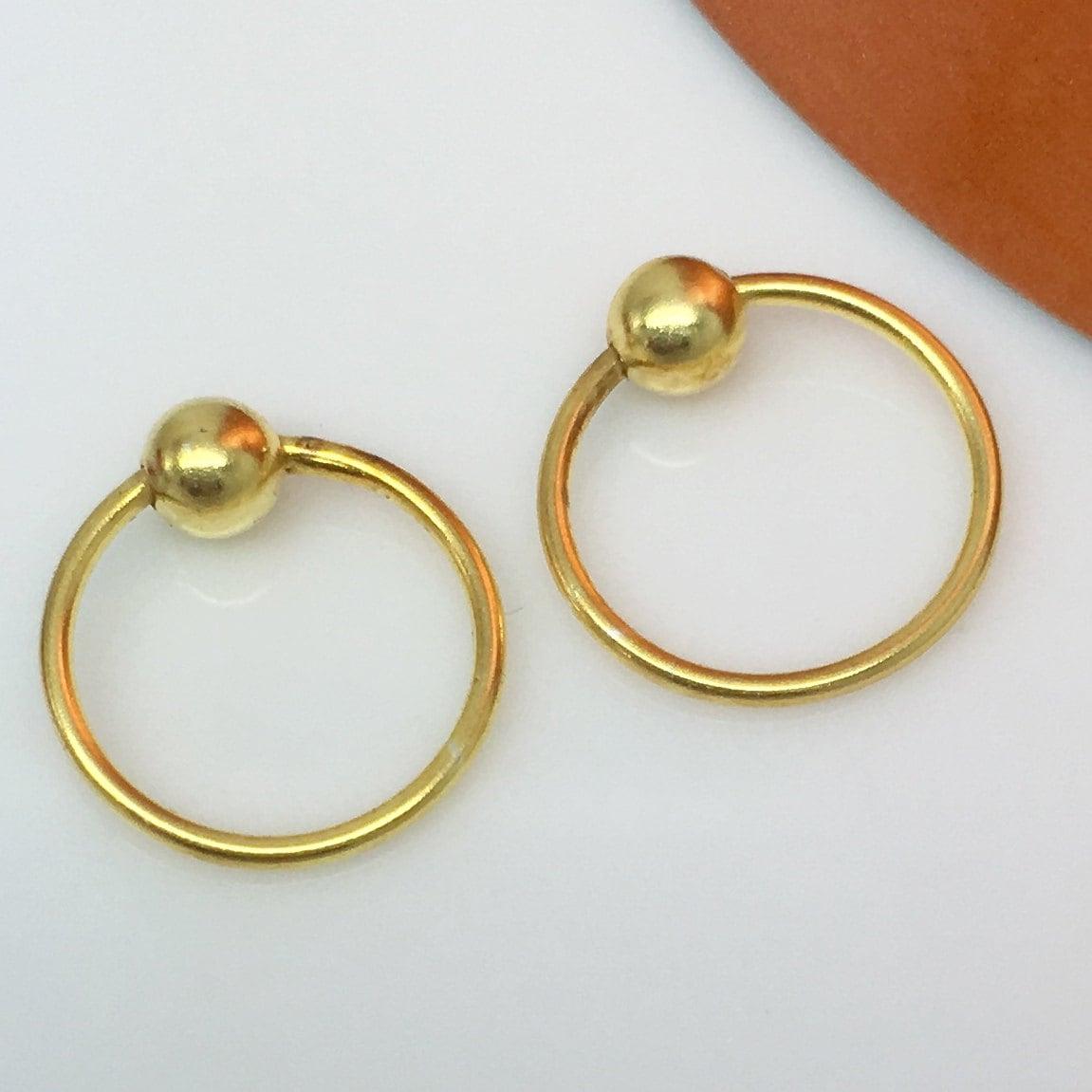 Wire hoop earrings yellow auroral blast hoop earrings