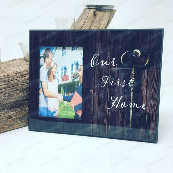 Our First Home Photo Frame, New Home gift, New Home frame, Personalized First Home Frame, Welcome home, Welcome to our new home frame