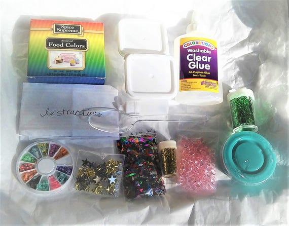 Clear slime kit diy slime 4 oz 8 oz 12 oz or 16 oz clear glue clear slime kit diy slime 4 oz 8 oz 12 oz or 16 oz clear glue sparkle project extras add ins glue slime package make your own supplies from superawwwsome ccuart Gallery