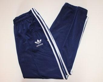 Vintage Adidas Trackpants German Flags on the Legs 90s 9CxfleVokv