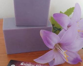 Natural SOAP has Lavender