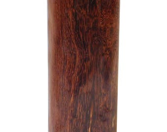 Natural Chinese Yellow Rosewood Short Log Pillow Shape Display cs2157E
