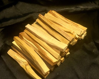 Palo Santo Holy Wood Incense 40 (Sticks approx) 1/2 lb SIZE BAG(4+inches long)