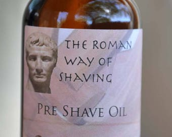 Pre-shave and Beard Oil