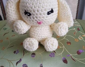 Handmade crochet Bunny rabbit