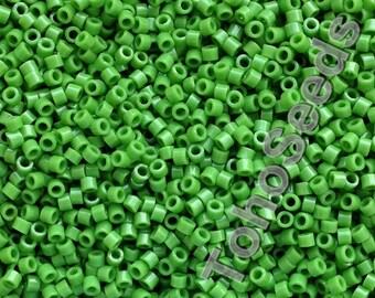 5g Toho 11/0 Treasure Cylinder Seeds Beads Opaque Mint Green TT-01-47 Cylinder Rocailles Green
