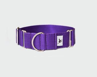 Martingale collar in Purple