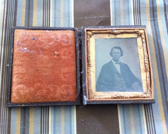 Daguerreotype, Antique Photography, Photograph, Pre Civil War Era Photograph