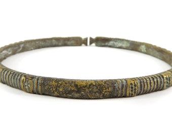 Dogon Brass Bracelet Mali Africa 119006