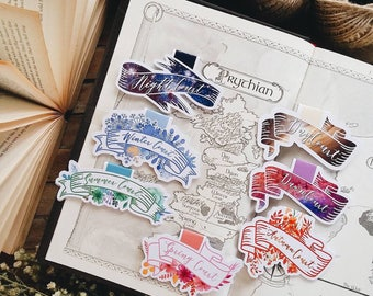 Court Magnetic Bookmarks