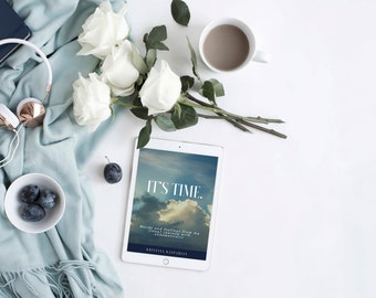 """E-book - Original book - """"It's Time. Words and feelings from my (long) journey with endometriosis"""" - Kristina Kasparian - Author"""