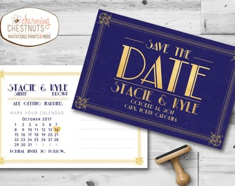 100 gatsby save the date cards art deco save the date