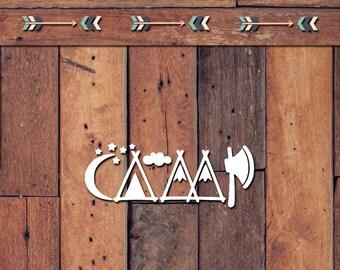 Camp Decal | Yeti Decal | Yeti Sticker | Tumbler Decal | Car Decal | Vinyl Decal