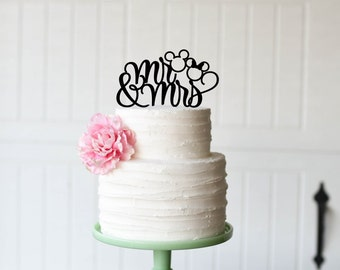 Racing Nascar Wedding Cake Topper Checkered Flag Cake Topper