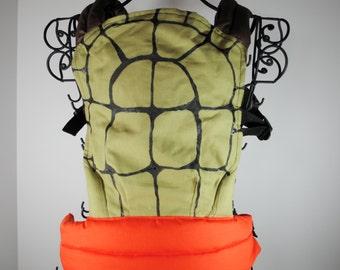 Ninja Turtle Carrier/Hat (Tula style )