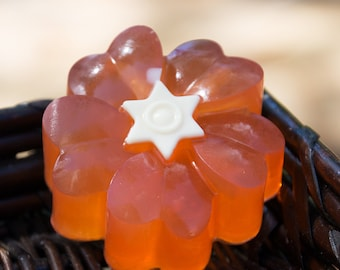 Orange Flower Soap - Exotic Satsuma - Glycerin and Shea Butter Soap // Gifts for Her