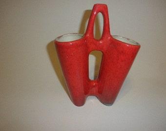 Vintage Crest Mold Vase