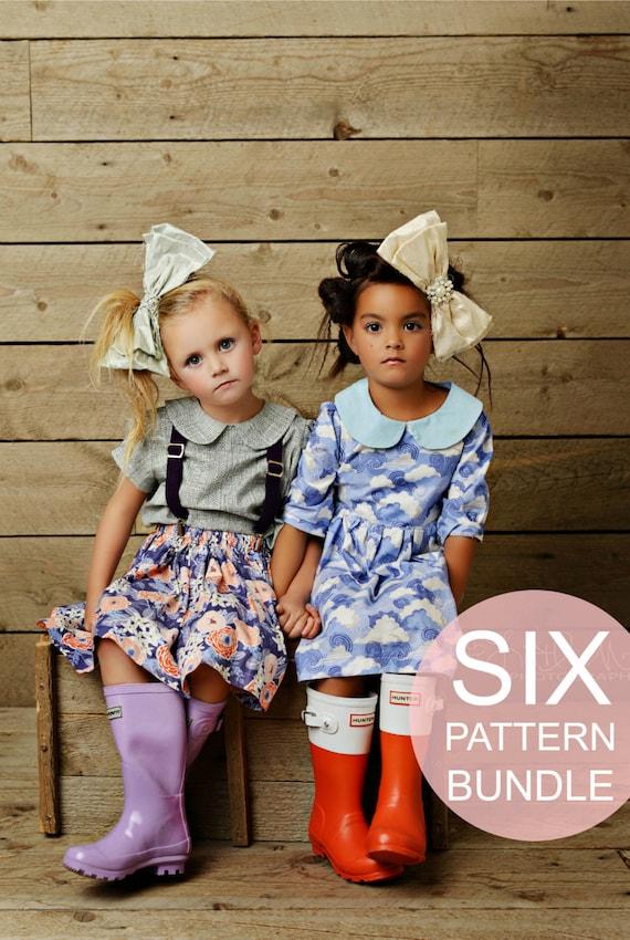 Girls Easy Sewing Patterns Beginner Sew Patterns Girls Dress Peter ...
