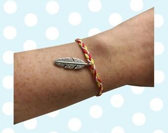 Spoonie Friendship Bracelet (Spring/Summer)