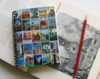 Italy Posters Notebook 4x6 inches