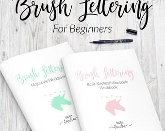 Brush Lettering For Beginners Class at the Tett