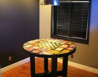 Custom Collage Table