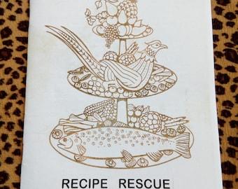 Recipe Rescue Zine
