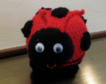 Lady Bug, Stuffed Toy, Handmade, named for my Hayley Bug