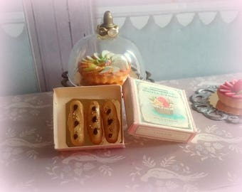 1/12 miniature french pastries