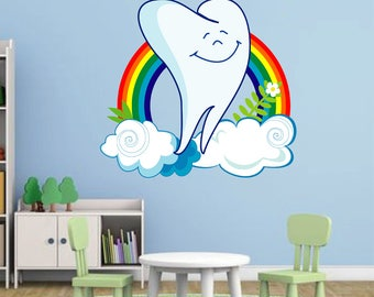 Dental Clinic Decor Etsy - Window decals for dental office