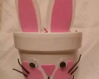 Bunny Face Ceramic Pot