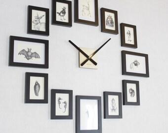 Attirant Photo Picture Frame Wall Clock   Modern 12