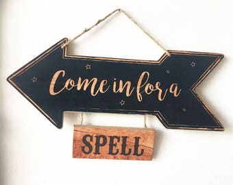 Come in for a Spell - Wall Hanger