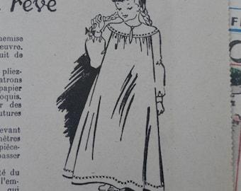 1950, Bleuette, sewing patterns, antique doll patterns, la semaine de suzette 10 numbers - FRENCH LANGUAGE