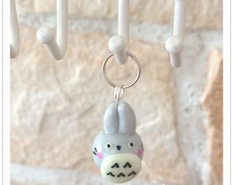 Totoro kawaii polymer clay jewelry