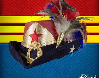Wonder Woman Inspired Riding Hat