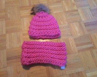 Tuque and scarf