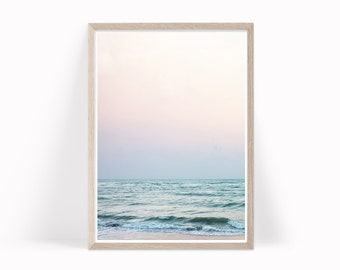 Beach Wall Art, Ocean Waves Print, Coastal Decor, Ocean Photography, Ocean Photo Ocean Beach Printable Download, Seascape Beach Decor, b7c4c