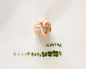Organic Puzzle Ball, Organic Montessori Ball, Organic Baby Ball, Baby Clutch Ball, Baby Puzzle Ball, Organic Baby Toy, Organic Sensory Toy