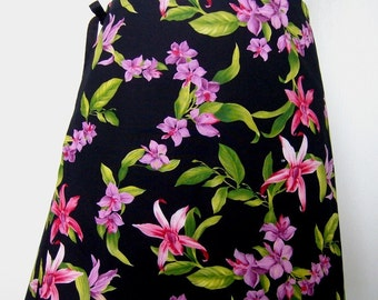 Wrap Around Skirt - Orchids