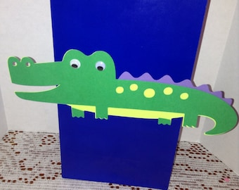Cute Alligator Party Goody Bags