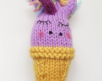 Unicorn Baby Rattle Toy - Baby Gift, Baby Toys, Nursery Decor!