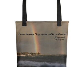 From Heaven They Speak Tote bag