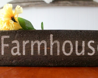 Farmhouse wood box