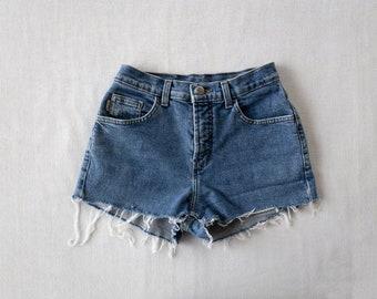 Vintage Lois high waist cutoffs