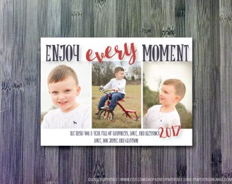 Every Moment Holiday Photo Card   HC45