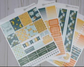 SWEET DREAMS Weekly Kit PRINTABLE Stickers