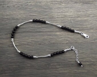 Ankle Bracelet -Sterling Silver ankle bracelet - Silver Ankle Bracelet