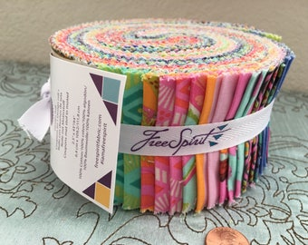 Tabby Road by Tula Pink for Free Spirit Fabrics  - Design Roll - 40 strips